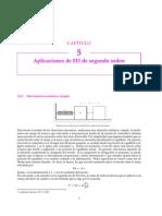 Aplicaciones de Ecuaciones Diferenciales de segundo orden, Movimiento Armónico Simple
