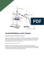 Alcohol Distillation and Its Origins
