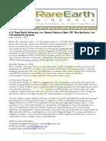 USREM Press Release 02-09-2012