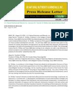 US Rare Earth Minerals, Inc. - 8/10/2010 Press Release