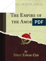 The Empire of the Amorites 1000323912