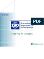 ISO Audit Training for Managers - 2007