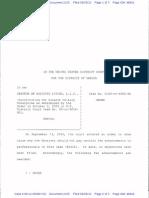 Sunwest Attorney Fee Order