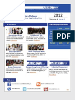 AIESEC UUM Newsletter 2012 Volume 4 Issue 1