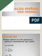 Analiza Gresaka Kod Merenja 7-Novakovic n