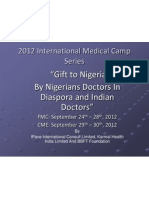 Gift to Nigeria by IPAVE International Consult Limited and Karmal Health International Updated