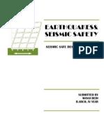 seismic safe design principles