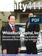 Realty411 Part 1 - America's Favorite Real Estate Investor's Magazine! Featuring Whiterock Capital, Inc.