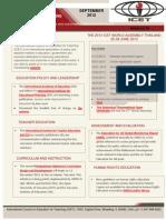 September 2012 Newsletter - General