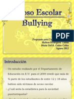 Acoso Escolar o Bullying_Propuesta