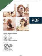 Perrito Beagle Amigurumi Crochet
