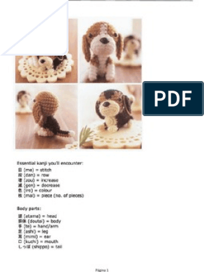 PATRON DE PUG CON SUETER AMIGURUMI | Perros amigurumis, Patrones ... | 396x298