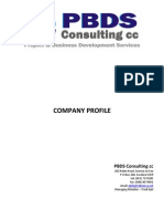 Company Profile - Pbds