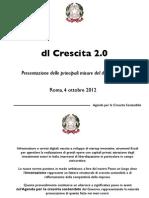 Decreto Legge Sulla Crescita Roma 4 Ottobre 2012 69362-8038