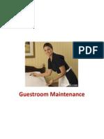 Lesson 3 Guestroom Maintenance
