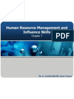 Chapter7 Human Resource Management and Influence Skills