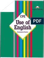 CPE Use of English v.evans