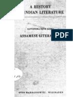 A History of Indian Literature Vol IX Fasc. 2 Assamese Literature - J Gonda