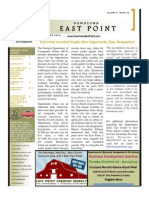 Downtown East Point Newsletter October 2012