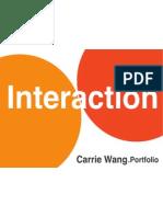 Yu-Chieh Wang's Portfolio (Carrie Wang)