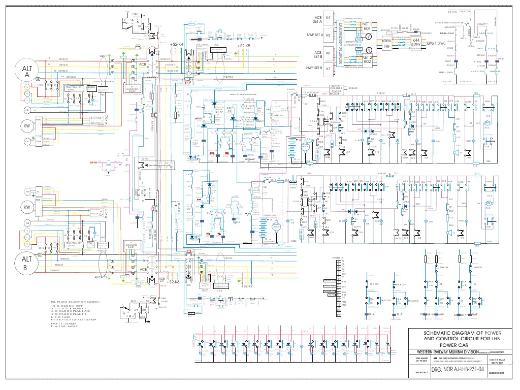 Attractive car schematic image collection electrical system block indian railway lhb coach diagram mod lhb power car cheapraybanclubmaster Choice Image