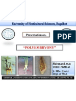 Polyembryony PPT by- Shivanand M. R