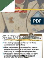 Persuasive Communication MIR