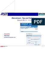 iRecruitment - Tips & Techniques Ppt Patti Kost