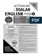 Pakej IT Bank Soalan English Form 2