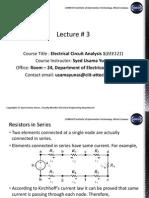 ECA Lecture 3