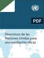 Directrices Mediacion Onu 2012 NU Guidance Mediation Es