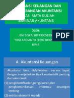 Akuntansi Keuangan Dan Perkembangan Akuntansi