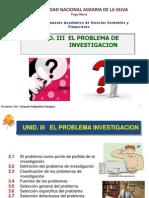 Unid. III El Problema Investigacion