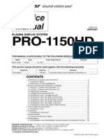 Pioneer Pro 1150hd