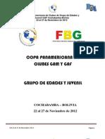 Convocatoria Copa Panamericana de Clubes 2012