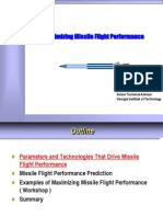 Maximizing Missile Flight Performance
