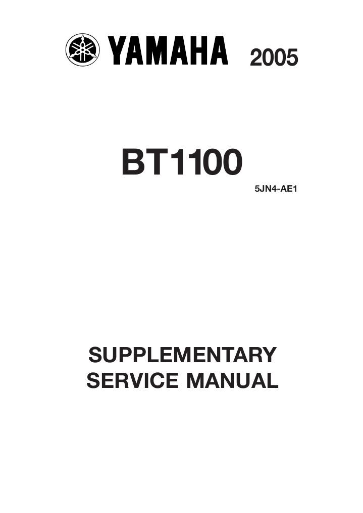 Yamaha Bt1100 2005