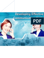 Developing Effective Communication Skills.