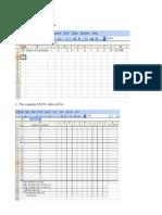 Test Construction Excel