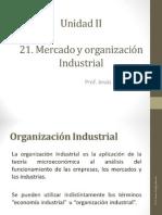 Unidad II 2.1 Mercado y organización industrial