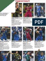 ICC T20 World Cup Gangnam Gang Xl