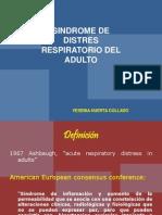 Sindrome de Distres Respiratorio Del Adulto