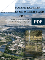 Krausman Et Al. 2008 - Urban Influences on Wildlife