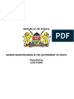 Gender Mainstreaming Sensitization Paper 1 New Version - Copy