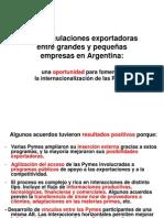 Articulaciones exportadoras