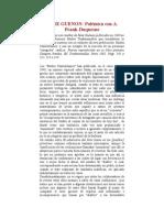 Guenon, Rene - Polemica