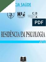 Edital Psicologia - HUPE