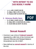 Lecture 11 - Assault GBH & Theft