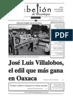 Semanario la Rebelión de Tehuantepec 29