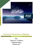Consumer Financing in Pakistan